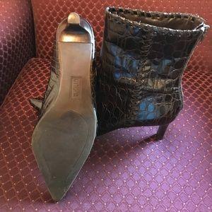 UNISA Shoes - UNISA Chocolate Brown Booties